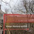 Fotomontage HGV, Grenzbebauung und Bauhöhe, 03/2015