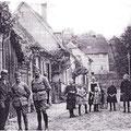 Französische Soldaten in Igstadt