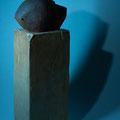 """Sculpture grès - Juan josé Ruiz dit """"Caco"""" - cuisson four à bois Noborigama de Caco et Sylvie à """"Bouquet de Flammes"""""""