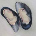 Moules / Öl auf Leinwand / 24 x 30 cm 2014 (verkauft)