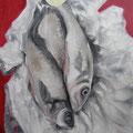 Loup de Mer / Öl auf Leinwand / 80 x 100 cm 2014 (verkauft)