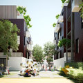 LOGEMENT ILOT PASSIFS BOIS PREFABRIQUE 3D GRAND PARIS