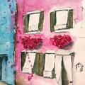 Venedig, Burano 2014 36x48