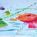 Bunte Fische 2015 30x60