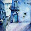 Blue Venice, 2019, 30x40
