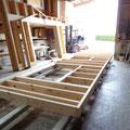 Zusammenbau der Holzelemente