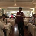 マカティ最後のディナーは老舗イタリアンレストラン「ITALIANO CARUSO」