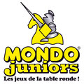 Création logo • Mondo Juniors (France) • © recreacom.fr - Christophe HOULES graphiste