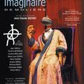 """Création affiche spectacle : """"Le malade imaginaire"""" de Molière • © Récréacom, Christophe Houlès graphiste"""