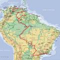 Amazonie • Création carte touristique / Édition : Les Créations du Pélican • © recreacom.fr - Studio de création Christophe Houlès