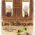 Création affiche : Les Diablogues de Roland Dubillard, mise en scène de Christine Bergerac • © Récréacom
