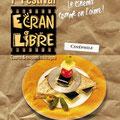 Création affiche : Festival Ecran Libre • © Récréacom, Christophe Houlès graphiste
