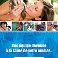 Chemise client • Clinique vétérinaire la Croix Bleue / Lunel • © Récréacom, Christophe Houlès graphiste