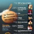 Création affiche théâtre : Théâtre Régional Jacques Cœur • © Récréacom, Christophe Houlès graphiste