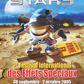 Création affiche : Festival Effets Stars • © Récréacom, Christophe Houlès graphiste