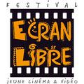 Création logo • Festival Ecran libre (Gard) • © recreacom.fr - Christophe HOULES graphiste