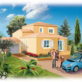 Illustration projet immobilier : Technique mixte • © Christophe Houlès, illustrateur