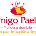 Création logo • Amigo Paella (Paris) • © recreacom.fr - Christophe HOULES graphiste