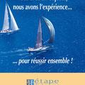 Plaquette commerciale • Annonceur : Etape développement / Toulon • © Récréacom, Christophe Houlès graphiste
