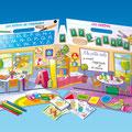 Valisette de jeux enfants : Illustration Illustrator / Edition Hatier Jeunesse • © Christophe Houlès, illustrateur jeunesse