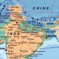 Inde • Création carte touristique / Édition : La Manufacture • © recreacom.fr - Studio de création Christophe Houlès