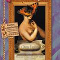 """Création affiche spectacle : """"La dame fantôme"""" de Guy Vassal • © Récréacom, Christophe Houlès graphiste"""