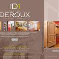 Plaquette commerciale • Annonceur : Cuisines Michel Deroux / Rhône-Alpes • © Récréacom, Christophe Houlès graphiste