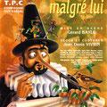 Affiche théâtre : Illustration mixte / Le médecin malgré lui • © Christophe HOULES, illustrateur