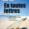 Création affiche : En toutes Lettres, Christine Bergerac Marie-Hélène Courtin • © Récréacom, Christophe Houlès graphiste