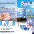Dépliant commercial • Annonceur : Respur / Paris • © Récréacom, Christophe Houlès graphiste