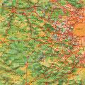 Paris Ouest • Création carte touristique / Édition : Les Créations du Pélican © recreacom.fr - Studio de création Christophe Houlès