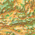 Lubéron • Création carte touristique / Édition : Les Créations du Pélican • © recreacom.fr - Studio de création Christophe Houlès