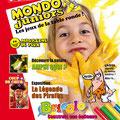 Magazine enfants : création + illustrations / Mondo Juniors • © Christophe Houlès, illustrateur graphiste