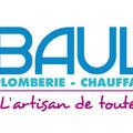 Création logo • Sarl Baulan (Le Lion d'Angers) • © recreacom.fr - Christophe Houlès graphiste
