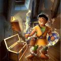 Frisbee & le grimoire magique • © Christophe Houlès, illustrateur jeunesse