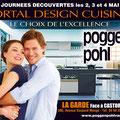 Campagne 4x3 • Annonceur : Poggenpohl Var / Toulon • © Récréacom, Christophe Houlès graphiste