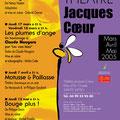 Création affiche théâtre : Jacques Cœur • © Récréacom, Christophe Houlès graphiste