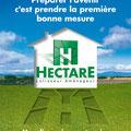 Plaquette de société • Annonceur : Hectare / Languedoc-Roussillon • © Christophe Houlès graphiste