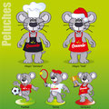 Déclinaison mascotte & création maquettes de figurines • SIBO / Crescendo restauration