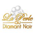 Création logo • La Perle au diamant noir (Hérault) • © recreacom.fr - Christophe HOULES graphiste
