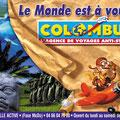 Affiche : Illustration mixte + Photoshop / Plein Soleil / Colombus • © Christophe HOULES, illustrateur