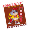 Création logo • Moods Sports Bar (Orlando - USA) • © recreacom.fr - Christophe Houlès graphiste
