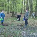 """Arbeitseinsatz am """"Fledermauswald"""" - Gute Laune inklusive!"""