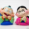 福助、お多福 Fukusuke and Otafuku