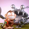 さるかに合戦 Battle of monkey and crab.