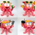 タコ2種 Two kinds of octopuses
