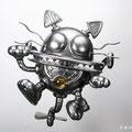 招き猫型ロボット Cat Robot