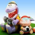 恐竜親子 Parent and child