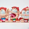 3匹のお猿 Three monkeys