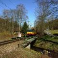 S 30020 am 20.03.2014 kurz nach Verlassen des Hp. Kullenmühle.